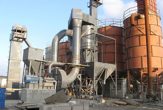 Fly Ash Powder Grinding Mill